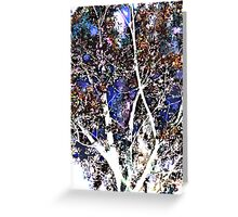 quiet tree Greeting Card
