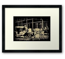Riding In Style Framed Print