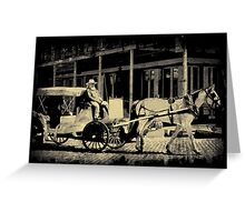 Riding In Style Greeting Card