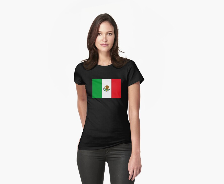 Mexico Flag Mexican Flag by HolidayT-Shirts