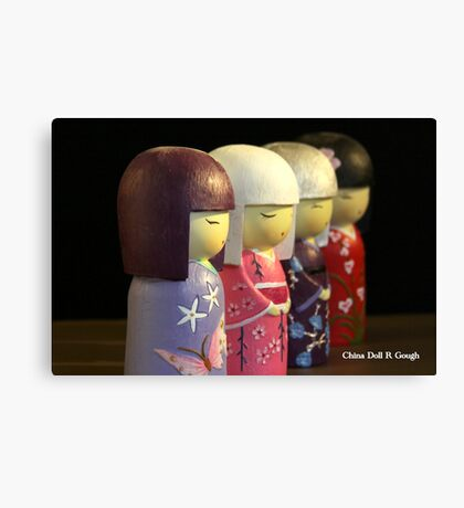 Cina Doll Canvas Print