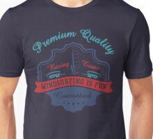 Premium Quality Windsurfing Is Fun Unisex T-Shirt