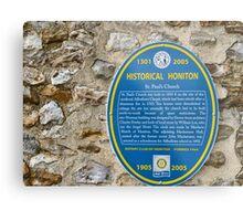 St Pauls Church  Honiton History Metal Print