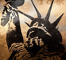 New York - Liberty by Angel Benavides