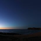 Avalon Beach Sunrise by Hugh McKay
