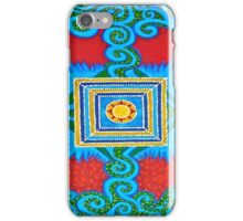 Meditation, Maori - inspired home decor & fashion iPhone Case/Skin