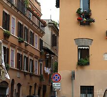 Street (Trastevere, Rome) by PleasureInc