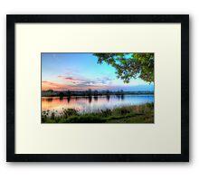 Andrews Reserve Framed Print