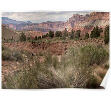 Capitol Reef Valley Poster