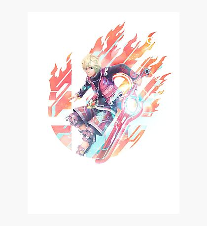 Smash Hype - Shulk Photographic Print