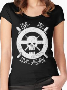 I live again Women's Fitted Scoop T-Shirt