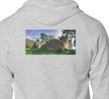 Pendragon Castle Ruin Zipped Hoodie