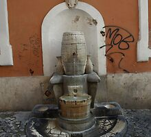 Fountain (Trastevere, Rome) by PleasureInc