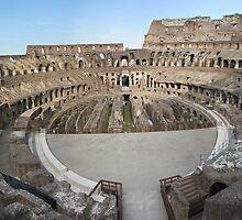 Inside the Colosseum by John Nelson