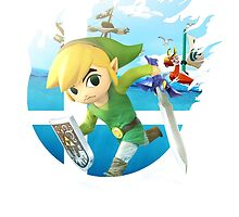 Smash Hype - Toon Link by Jp-3