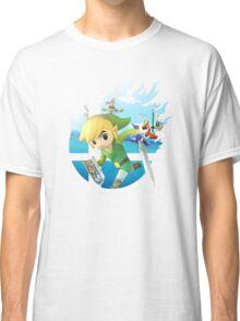 Smash Hype - Toon Link Classic T-Shirt