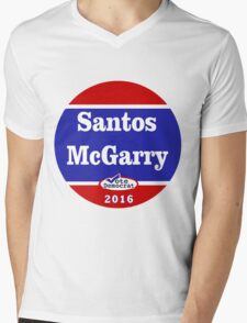 Matt Santos for the West Wing - 2016 Mens V-Neck T-Shirt