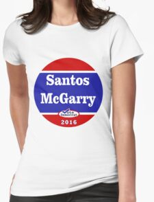 Matt Santos for the West Wing - 2016 Womens Fitted T-Shirt