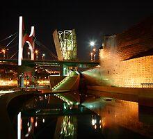 Guggenheim Reflections II by John Gaffen