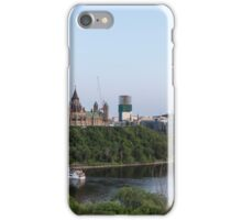 City of Ottawa at dusk iPhone Case/Skin