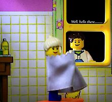 Peeping Lego by lynampics