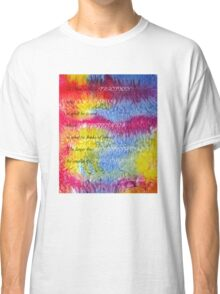 A Man is like a FRACTION  Classic T-Shirt