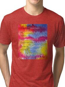 A Man is like a FRACTION  Tri-blend T-Shirt