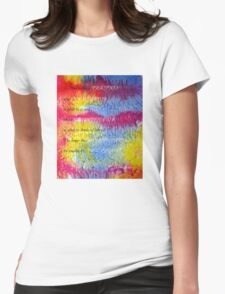 A Man is like a FRACTION  Womens Fitted T-Shirt