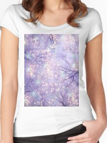 Each Moment of the Year Has Its Own Beauty Women's Fitted Scoop T-Shirt