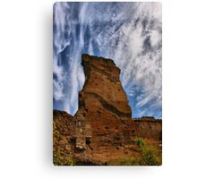 Ruins Against the Sky Canvas Print