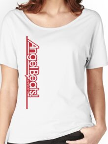 Angel Beats! Titel Red Women's Relaxed Fit T-Shirt