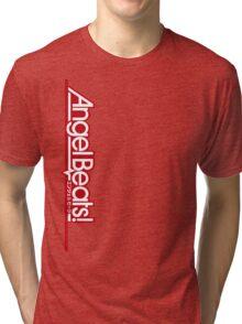 Angel Beats! Titel Red Tri-blend T-Shirt