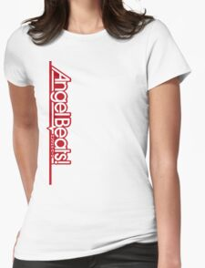 Angel Beats! Titel Red Womens Fitted T-Shirt