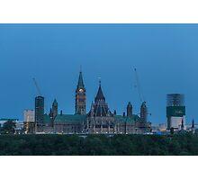 Canada's Parliament buildings - Centre Block Photographic Print
