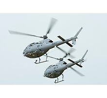 AS 350BA Squirrel Helicopter Photographic Print
