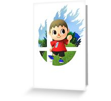 Smash Hype - Villager Greeting Card