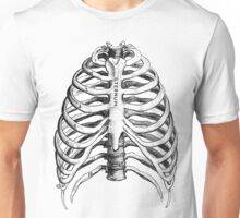 Medical Illustration: Ribs Unisex T-Shirt