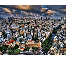 Tel Aviv lookout Photographic Print