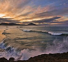 Waves of Dawn by Randall Scholten