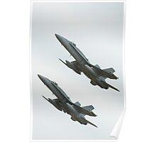 F/A-18 Hornet Poster