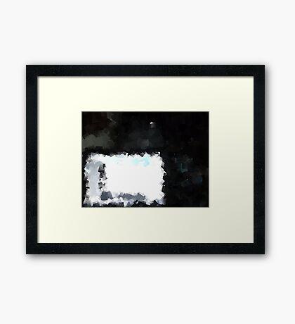 Digital Laptop Framed Print