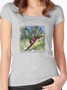 Kangaroo Paw Women's Fitted Scoop T-Shirt