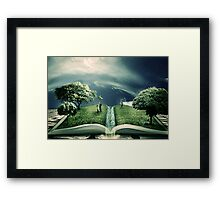 The Magic of Literature Framed Print