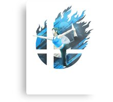 Smash Hype - Wii Fit Trainer Metal Print