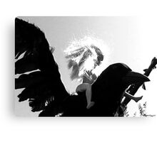 Barbie Conquers the Monsterbird Canvas Print