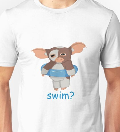 Gizmo wants to swim Unisex T-Shirt
