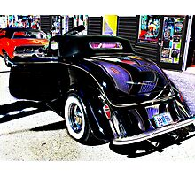 33 ford time machine Photographic Print