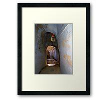 Tunnels of Arnados Framed Print