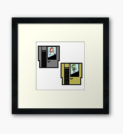 CARTRIDGES Framed Print