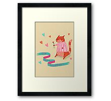 The Cat's Pyjamas Framed Print